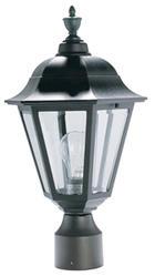"""Patriot Lighting® Savannah 19"""" Black Outdoor Post Light Head"""