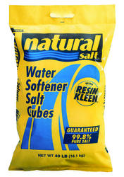 Natural Salt Water Softener Salt Cubes - 40 lb
