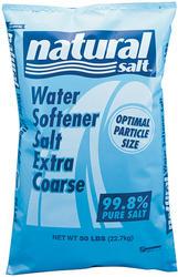 Natural Salt Extra Coarse Water Softener Salt - 50 lb
