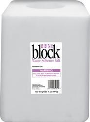 Brine Water Softener Salt Block - 50 lb
