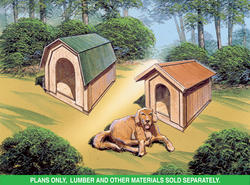 Plan H002D-0001 - Dog House Plans Only