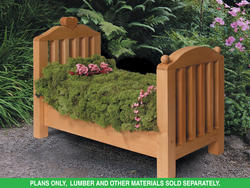 PLAN H097D-0011 Flower Bed Planter Plans Only