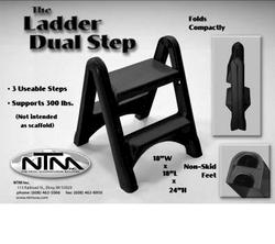 Zach's Dual-Step Folding Ladder Step Stool