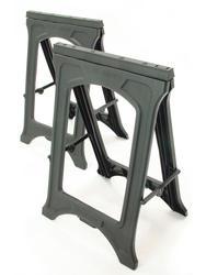 Folding Resin Sawhorses (2-Pack)