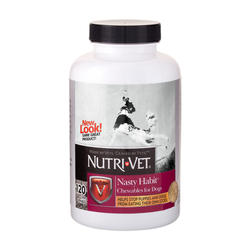 Nutri-Vet® Nasty Habit Chewables for Dogs - 120 ct.