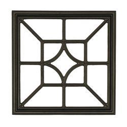 Nuvo Iron Square/Diamond Wooden Gate Decorative Accessory - Case of 6