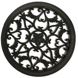 Nuvo Iron Circle Wooden Gate Decorative Accessory