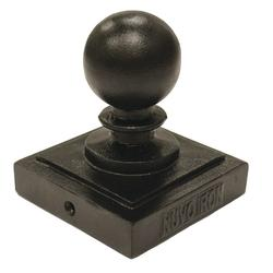 "Nuvo Iron 3-1/2"" Ball Post Cap"