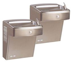 8 Gal. Stainless Steel Vandal-Resistant Universal Bi-Level Water Cooler