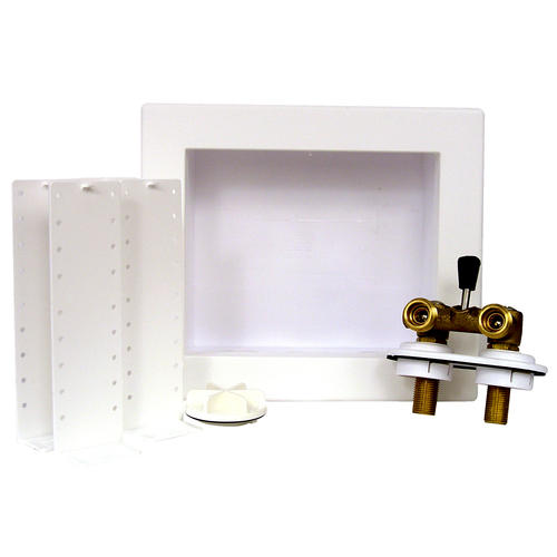 Quadtro Offset Washing Machine Outlet Box With Single