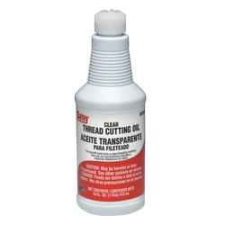 Clear Thread Cutting Oil - 16 oz.
