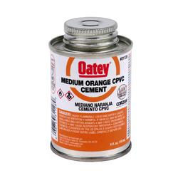 4 oz. LoVOC CPVC Medium Orange Cement