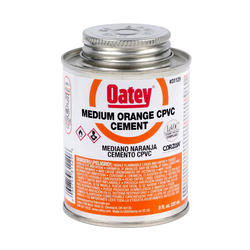 8 oz. LoVOC CPVC Medium Orange Cement
