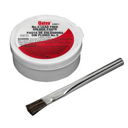 No. 5 Paste Flux With Brush, 1.7 oz. Carded