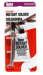 Lead Free Instant Solder, 1-1/2 oz. Carded - Includes Application Brush