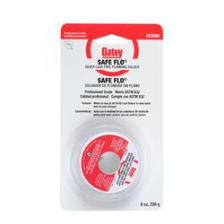 "Safe Flo Silver Lead Free Plumbing Wire Solder, .117"" - 1/2 lb. Bulk"