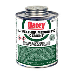32 oz. LoVOC PVC All Weather Clear Cement