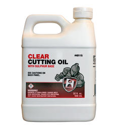 Cutting Oil - Clear