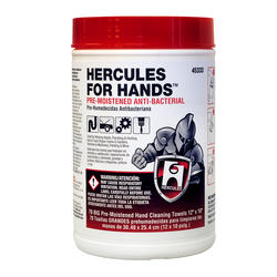 Hercules For Hands - Premoistened Towels - Thin Tub