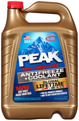 PEAK® Global Lifetime Antifreeze + Coolant 50/50 Prediluted