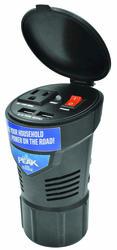 PEAK® 150-Watt Cup Holder Mobile Power Outlet