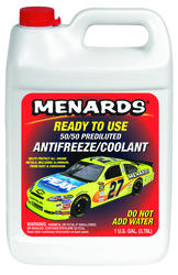 Menards 50/50 Antifreeze + Coolant (1 Gallon)
