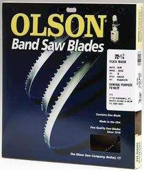 "72-7/16"" x 3/8"" x .025"" 4T Bandsaw Blade"