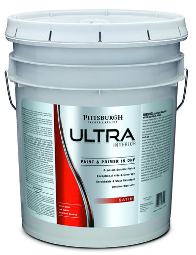 pittsburgh ultra pastel interior latex paint 5 gal at. Black Bedroom Furniture Sets. Home Design Ideas