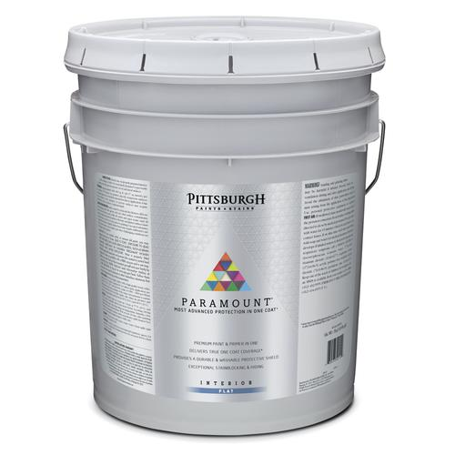 Pittsburgh Paints Stains Paramount Interior Latex Paint 5 Gal At Menards