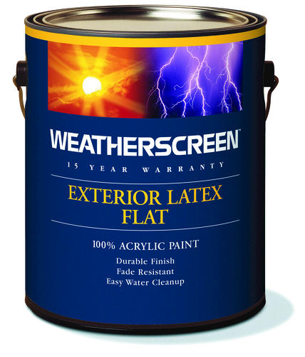 Weatherscreen Midtone Exterior Latex Paint