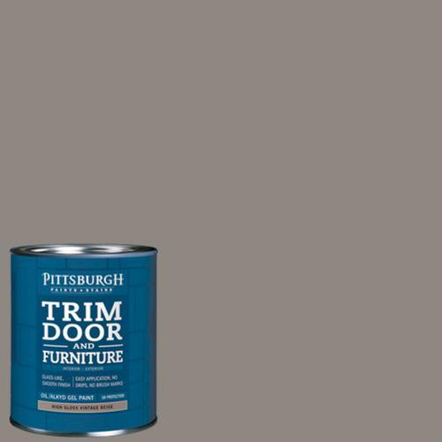 high gloss interior exterior paint formulated to eliminate brush marks. Black Bedroom Furniture Sets. Home Design Ideas