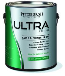 Pittsburgh Ultra High-Gloss Pastel Interior/Exterior Latex Paint - 1 gal.