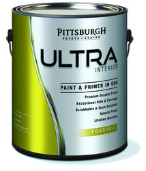 Pittsburgh Ultra White Interior Latex Paint - 1 gal.