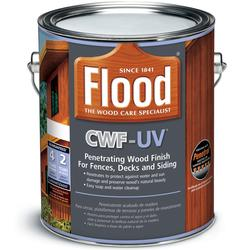 Flood CWF-UV Penetrating Clear Exterior Wood Finish - 1 gal.