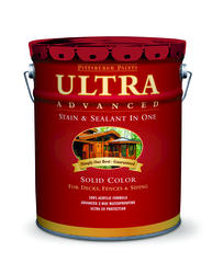 Pittsburgh Paints & Stains® Ultra Advanced Solid Color Pastel Wood Stain & Sealant - 5 gal.