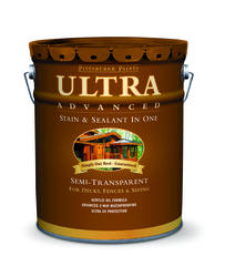 Pittsburgh Paints & Stains® Ultra Advanced Semi-Transparent Neutral Wood Stain & Sealant - 5 gal.