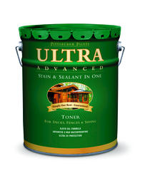 Pittsburgh Paints & Stains® Ultra Advanced Cedar Naturaltone Waterproofing Sealant Toner Stain - 5 gal.