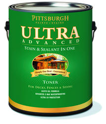 Pittsburgh Paints & Stains® Ultra Advanced Honey Gold Waterproofing Sealant Toner Stain - 1 gal.