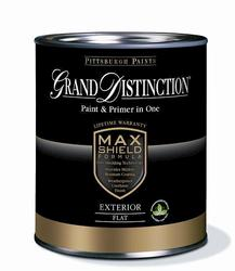 Pittsburgh Grand Distinction White Exterior Latex Paint - 1 qt