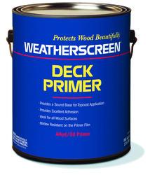 Weatherscreen White Deck Primer - 1 gal.