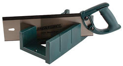 Masterforce® Backsaw with Miter box