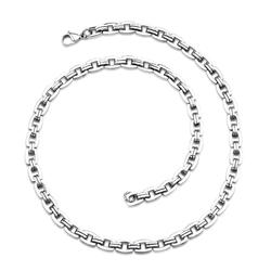 Oravo Bold and Heavy Stainless Steel Necklace for Men