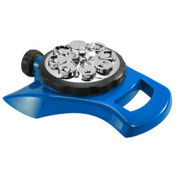 Yardworks® Blue 8-Pattern Turret Sprinkler