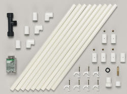 "10' Performance 1/2"" PVC Mist Cooling System"