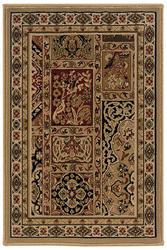 "Oriental Weavers Plaza 3D Bakhtiari 1'10"" x 2'10"""