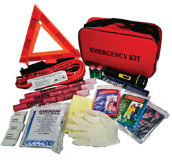 Deluxe Roadside Emergency Kit-79 Piece