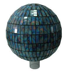 "10"" Tie Dye Mosaic Gazing Ball"