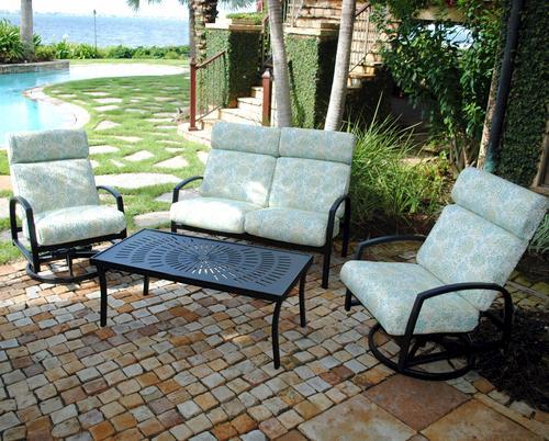 Backyard Creations 4-Piece North Bay Seating Collection At Menards®