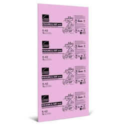 "Owens Corning FOAMULAR 250 1"" x 2' x 8' R-5 Rigid Foam Insulation"