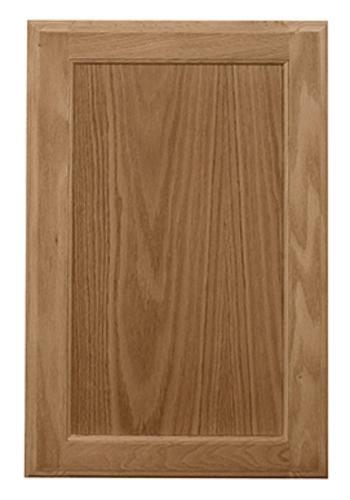 Pace 16 w x 13 h oak recessed panel cabinet door at menards - Kitchen cabinet doors menards ...